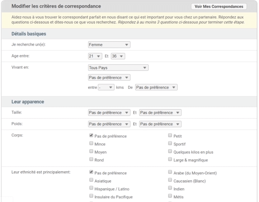 critere_correspondance